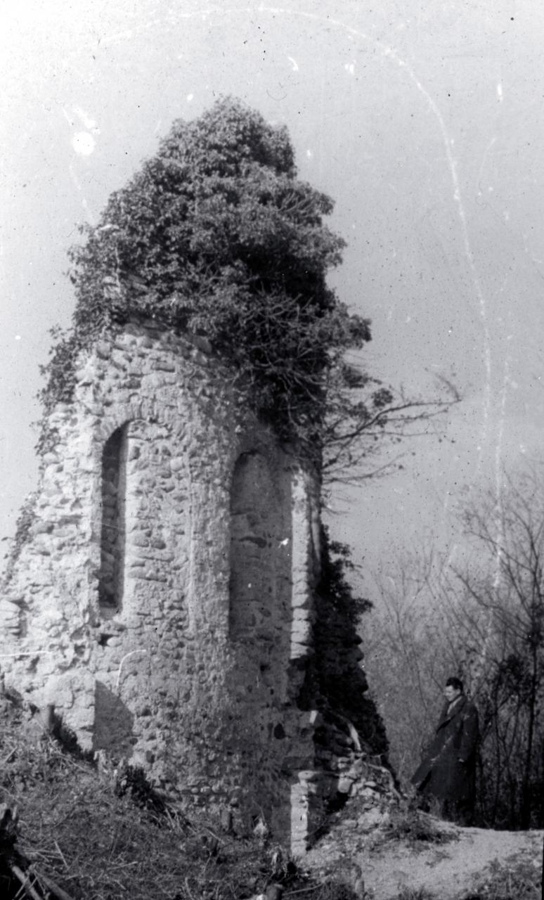 L'abside di San Giovanni prima del 1955