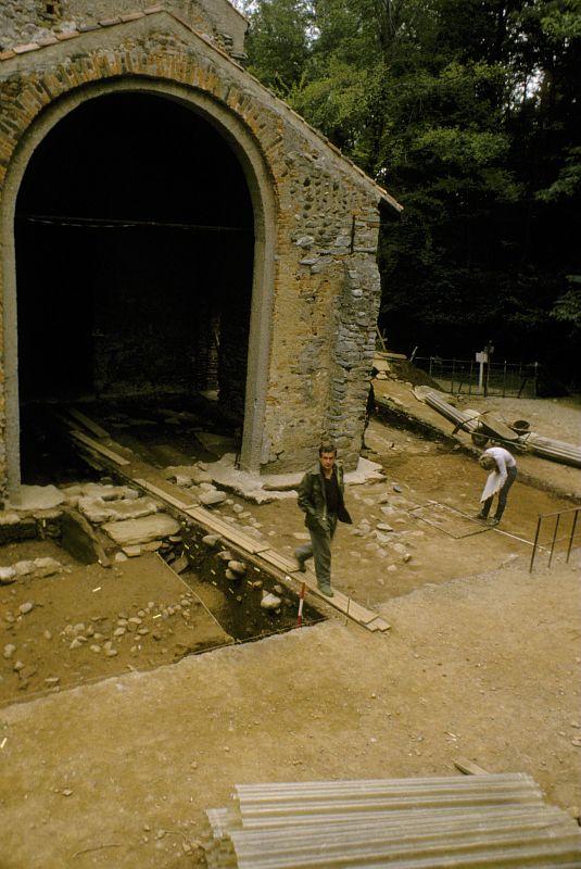 Gli scavi a Santa Maria Foris Portas