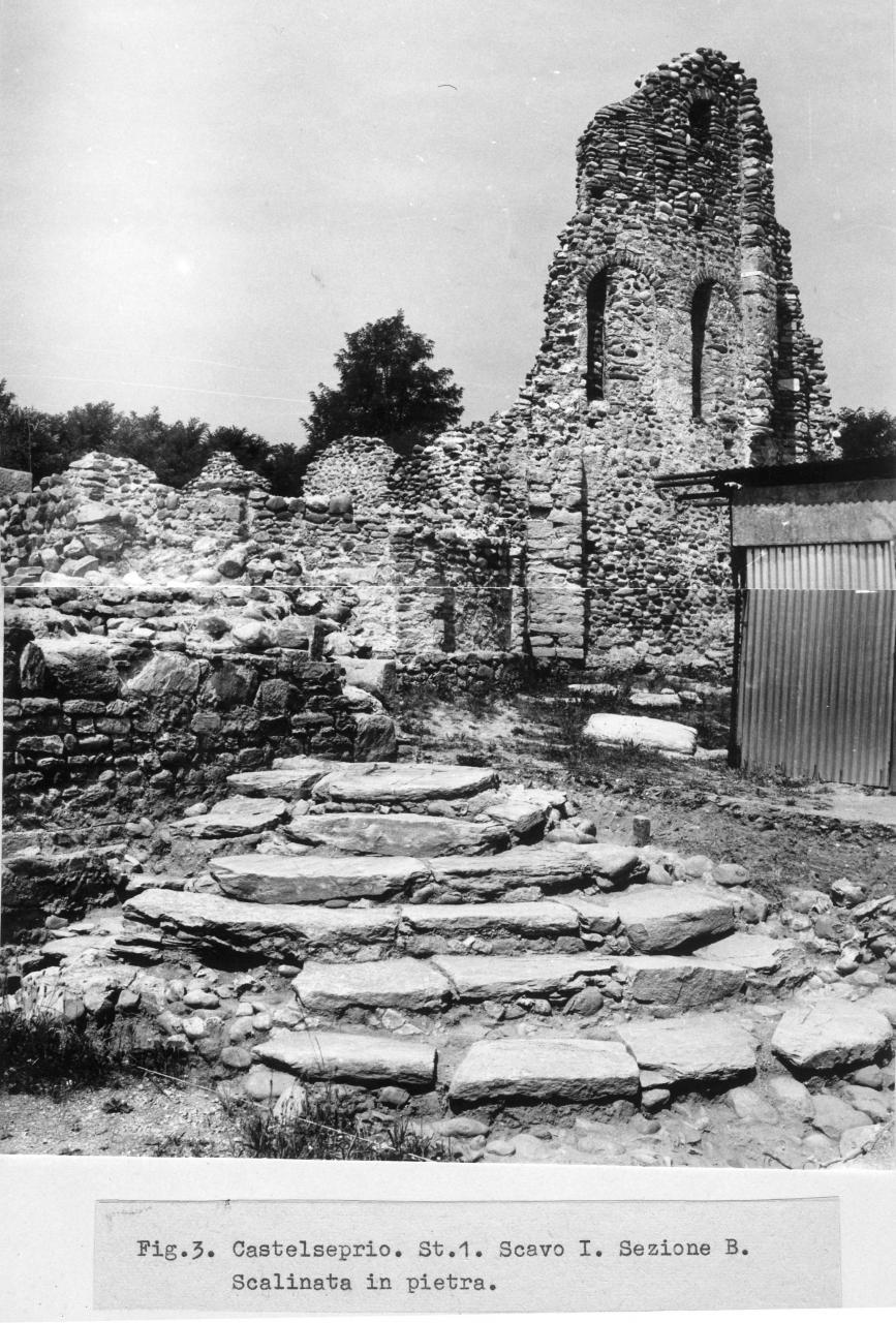 Scalinata in pietra