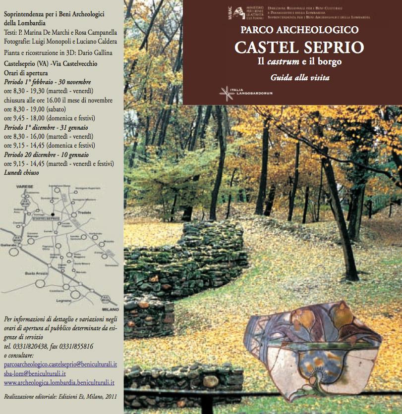 Parco archeologico Castelseprio il castrum e il borgo - Guida alla visita