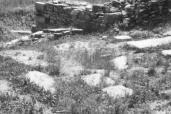 Zona B di scavo del cimitero