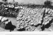 Frammento di una strada in pietra