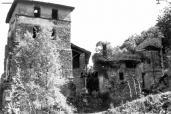 Foto storica della torre di Torba