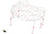 Le reazioni vincolari della struttura