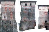 Analisi degli elevati della torre di Torba